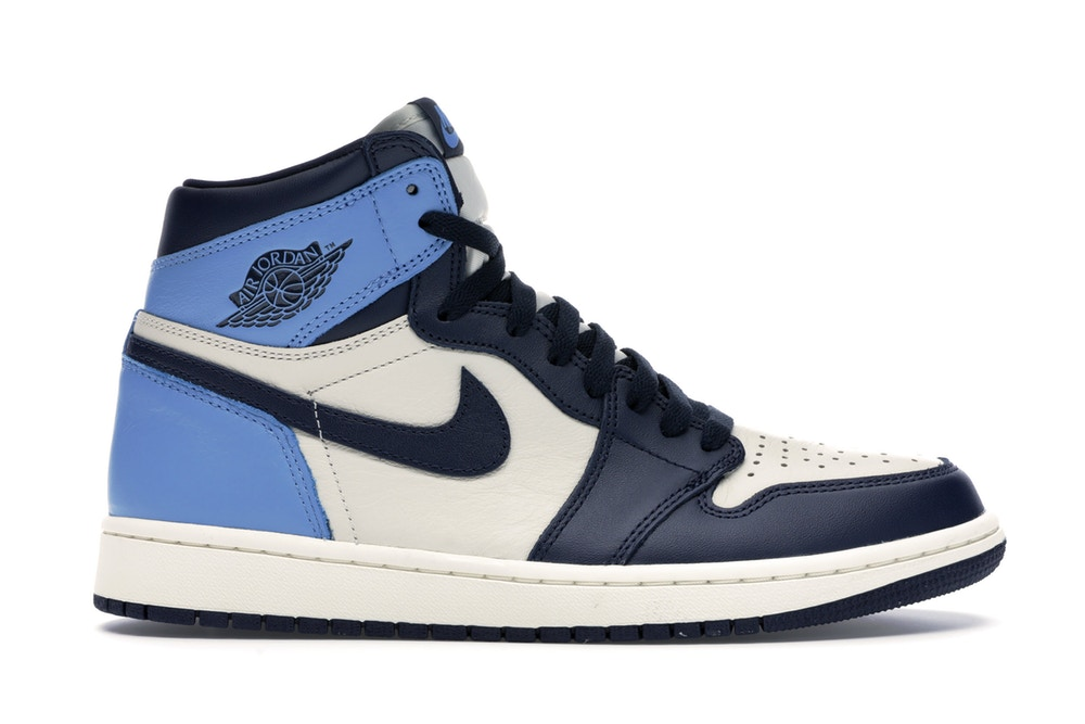 Jordan 1 Retro High Obsidian UNC