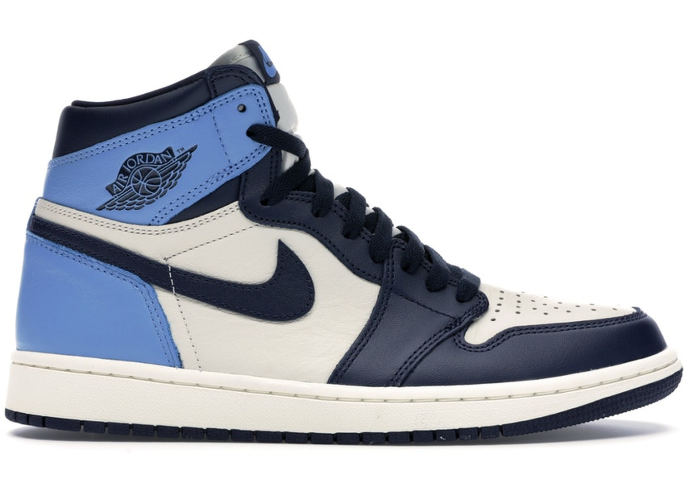 save off 4571d f294d Jordan 1 Retro High Obsidian UNC