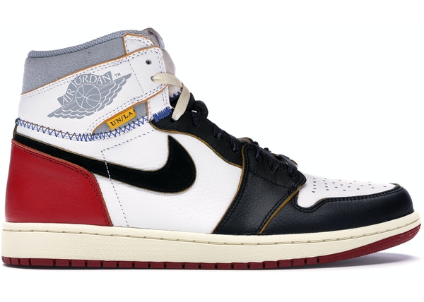reputable site 7d601 3eb98 Jordan 1 Retro High Union Los Angeles Black Toe