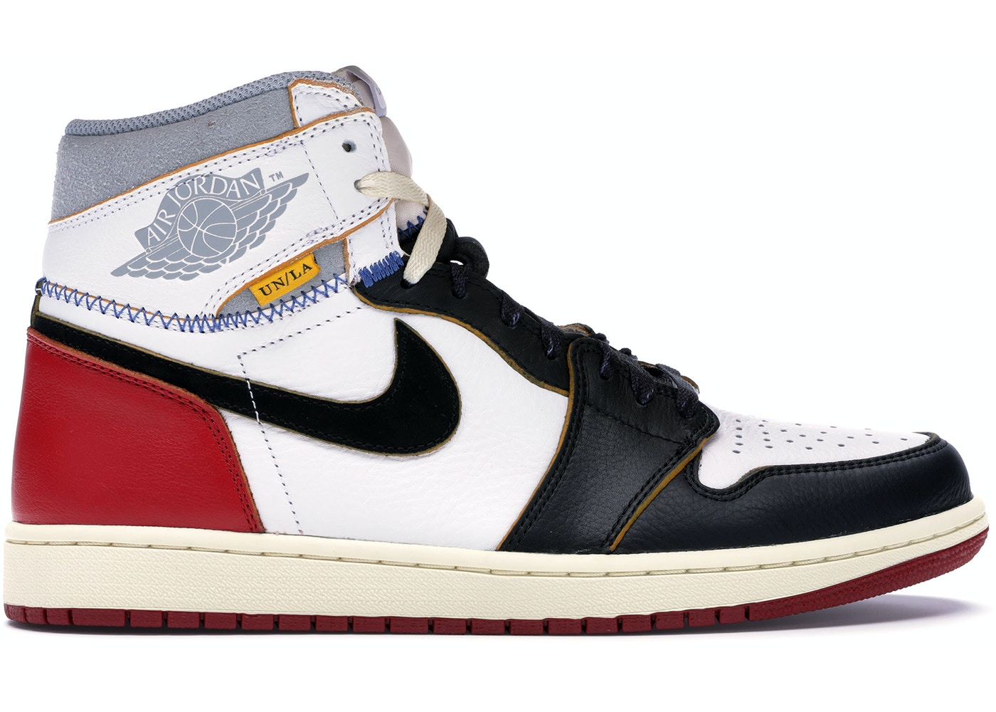 37936d5bc54 Jordan 1 Retro High Union Los Angeles Black Toe - BV1300-106