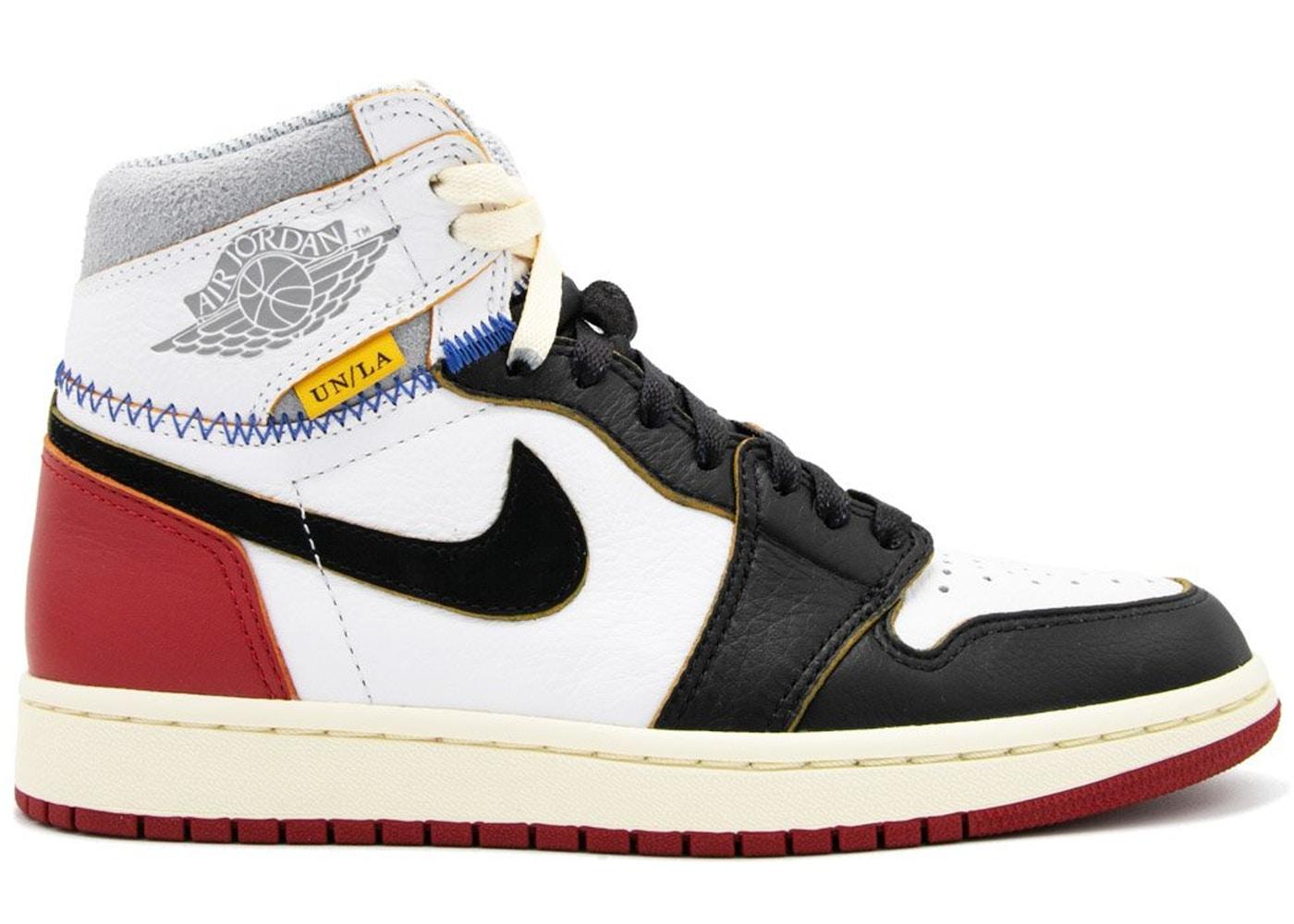 Jordan 1 Retro High Union Los Angeles Black Toe Buy Sell On Stockx