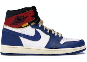 the latest 8b481 1db73 Jordan 1 Retro High Union Los Angeles Blue Toe - BV1300-146