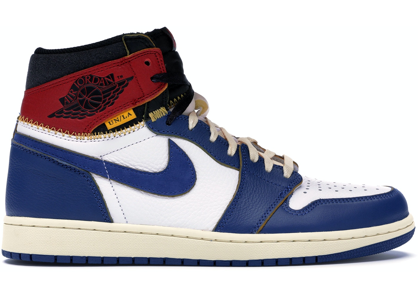 6a600b83bfbad Jordan 1 Retro High Union Los Angeles Blue Toe