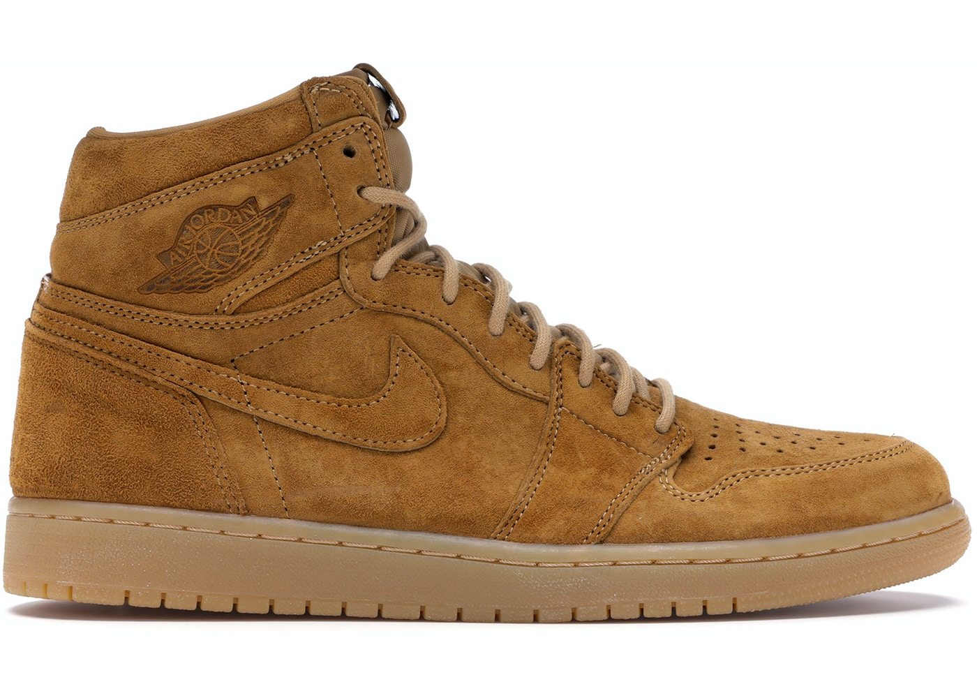 uk availability cb0ef 366a2 Jordan 1 Retro High Wheat