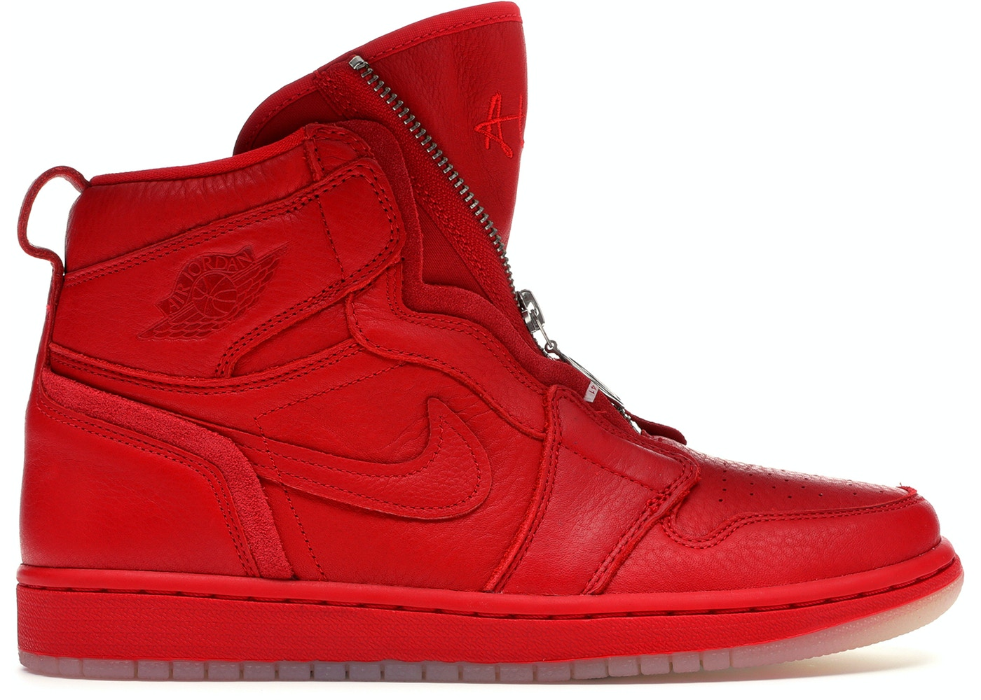 5facc4a2623b Jordan 1 Retro High Zip AWOK Vogue University Red (W) - BQ0864-601