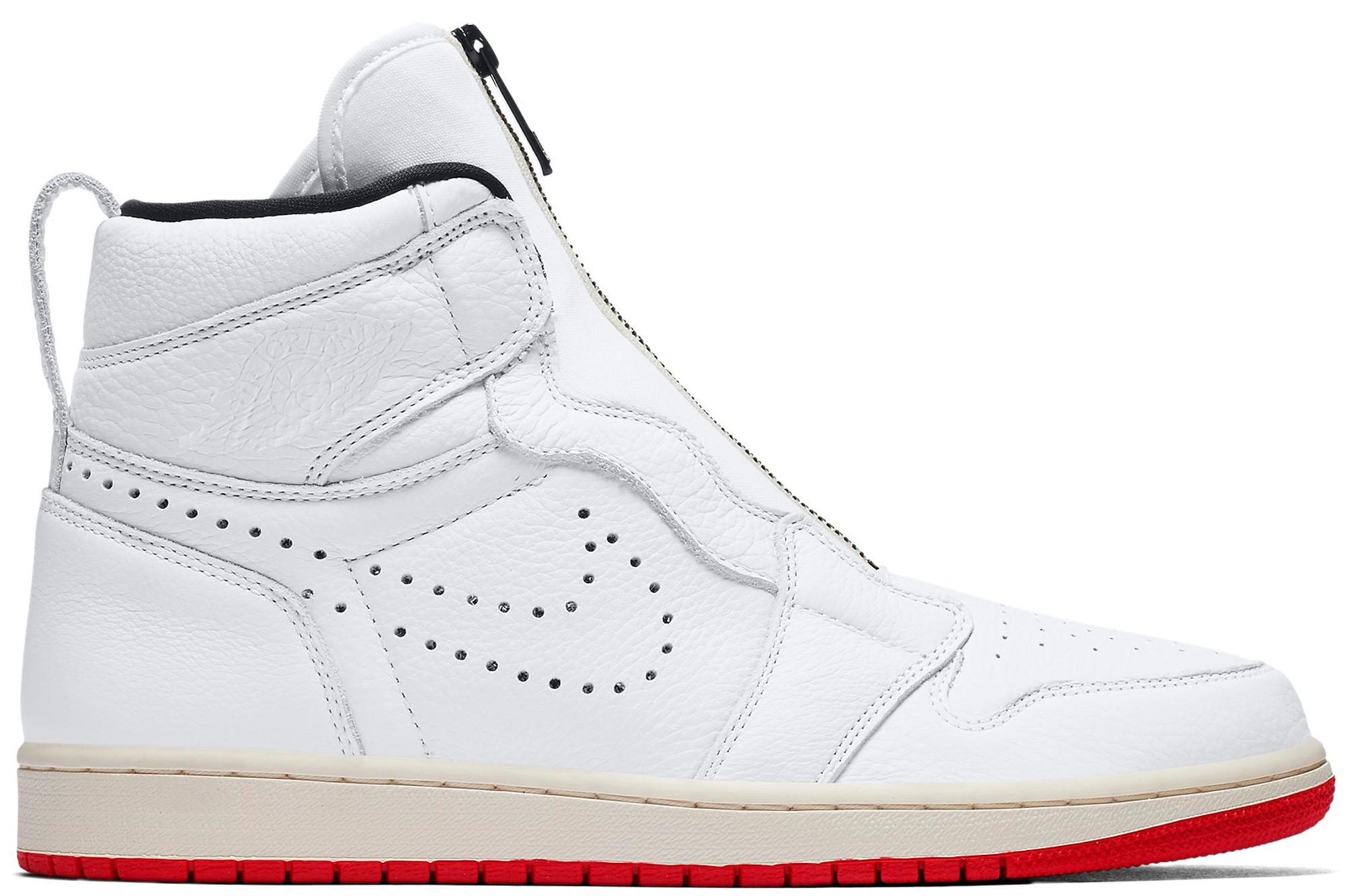Jordan 1 Retro High Zip White
