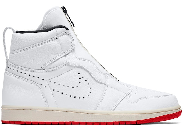 6991aa3a858 lowest ask. $89 · Jordan 1 Retro High Zip White University Red