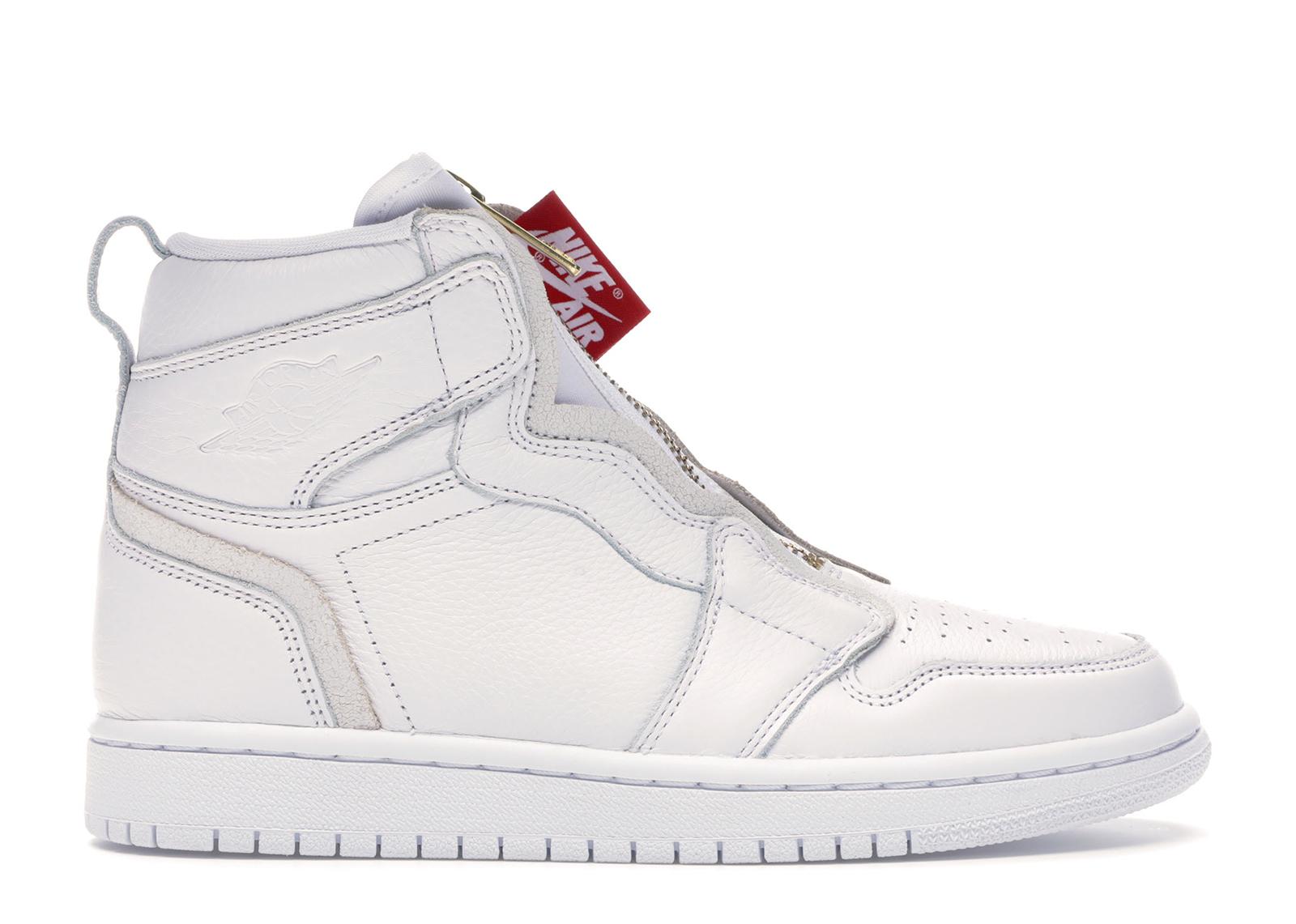 Jordan 1 Retro High Zip White (W