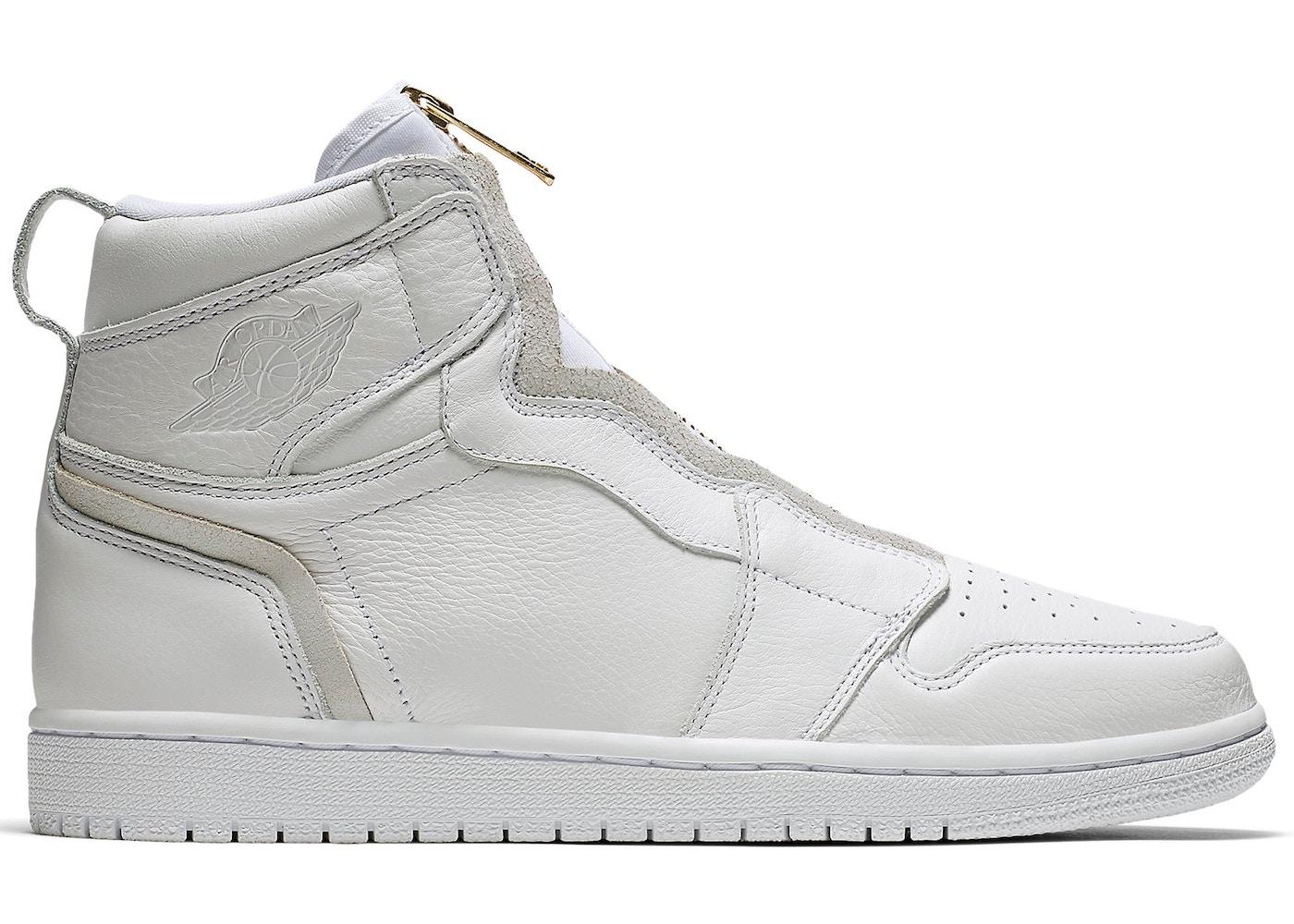0ab0e14edb4 Jordan 1 Retro High Zip White (W) - AQ3742-116