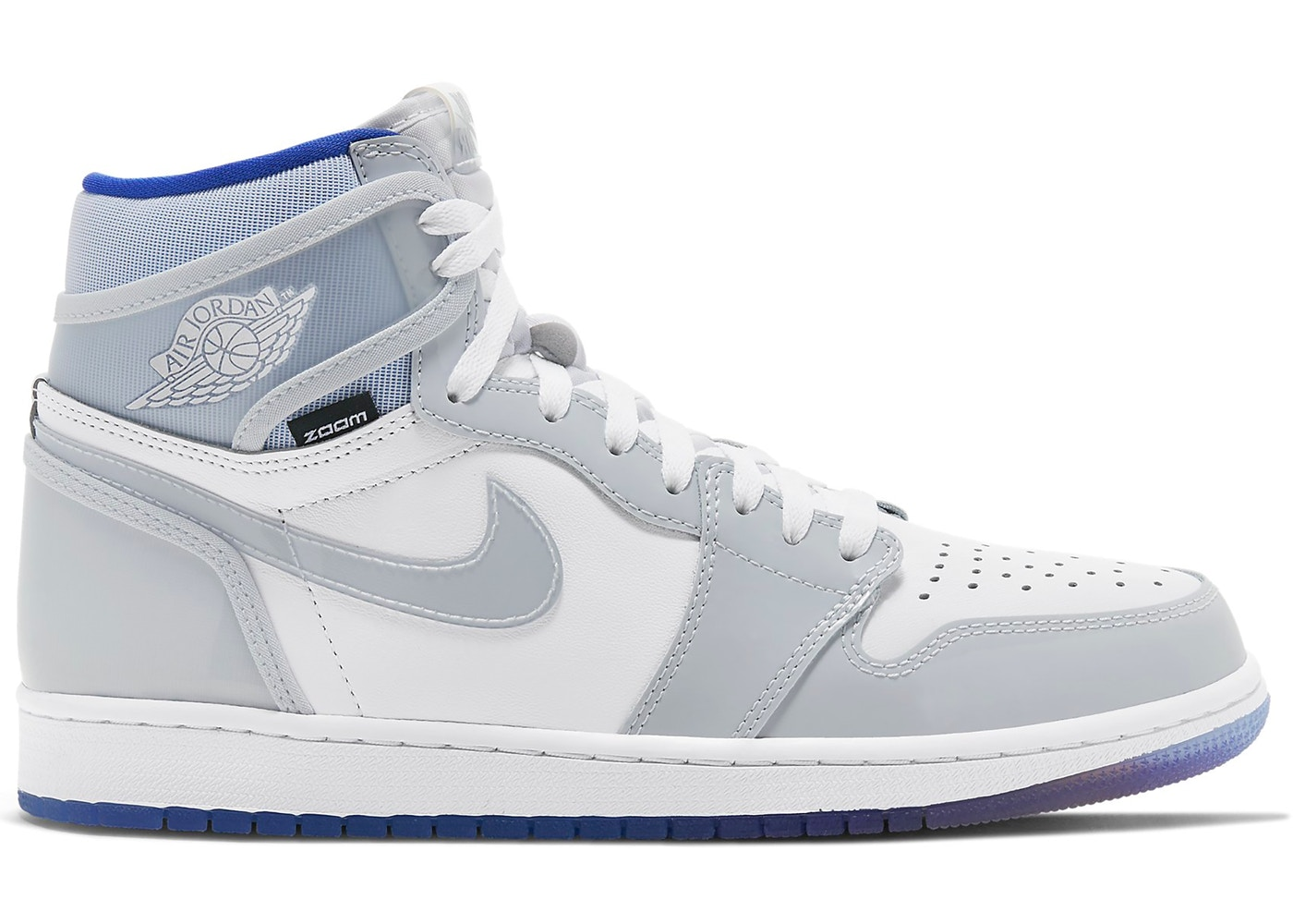 Jordan 1 Retro High Zoom White Racer Blue Ck6637 104