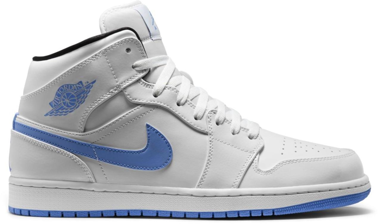 jordan 1 blue white