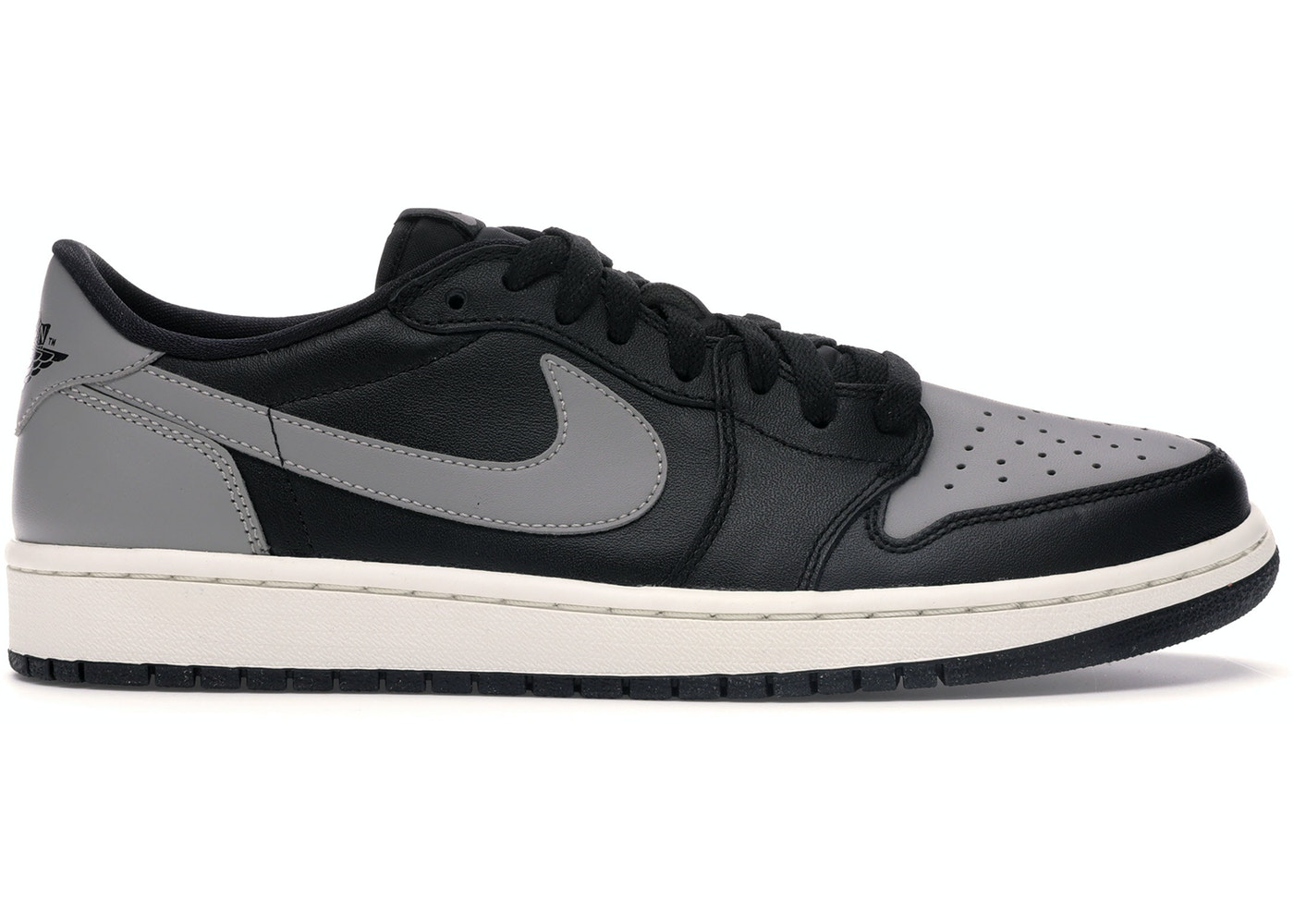 Rettangolo Diligenza Si verificano  Jordan 1 Retro Low Black Grey (2015) - 705329-003