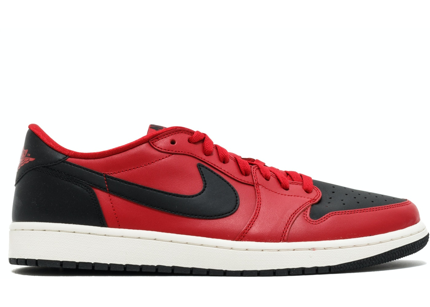 Jordan 1 Retro Low Gym Red Black 705329 601