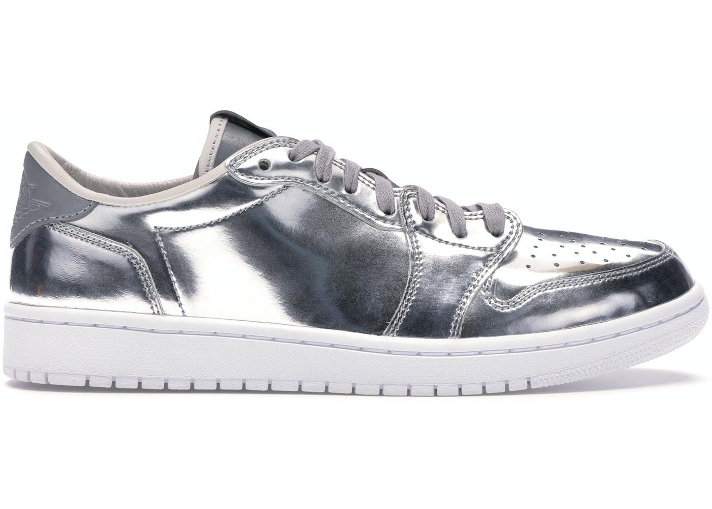 13eb60226e5 Jordan 1 Retro Low Pinnacle Metallic Silver - 852549-003