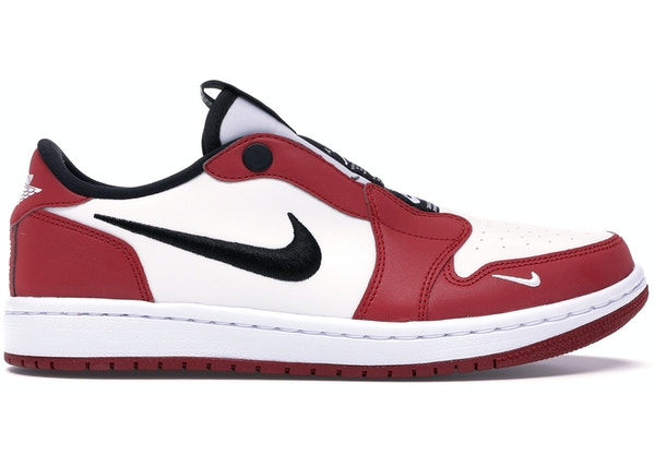 detailed look b6a15 6981d Jordan 1 Retro Low Slip Chicago (W)