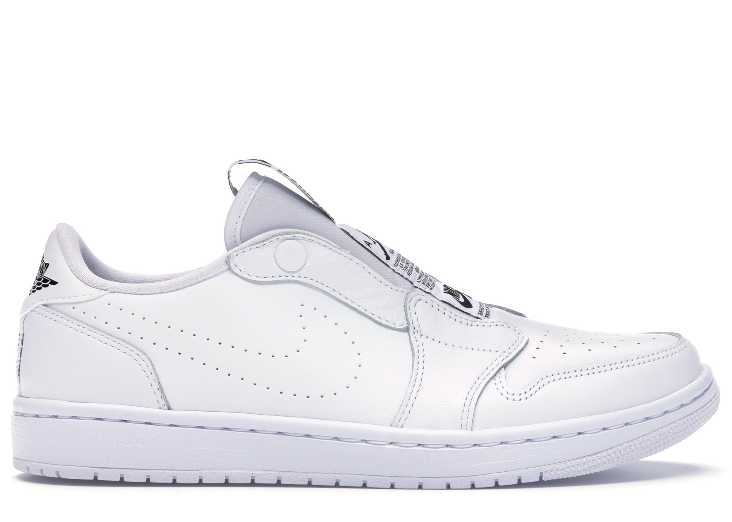 Jordan 1 Retro Low Slip White (W