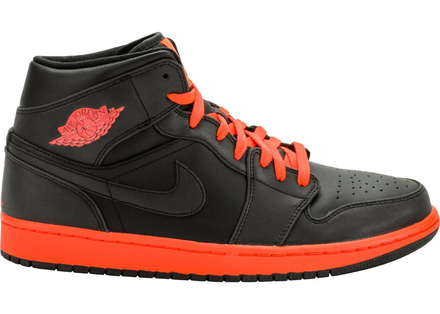 sneakers for cheap 6293b 21a8e Jordan 1 Retro Mid Black Infrared