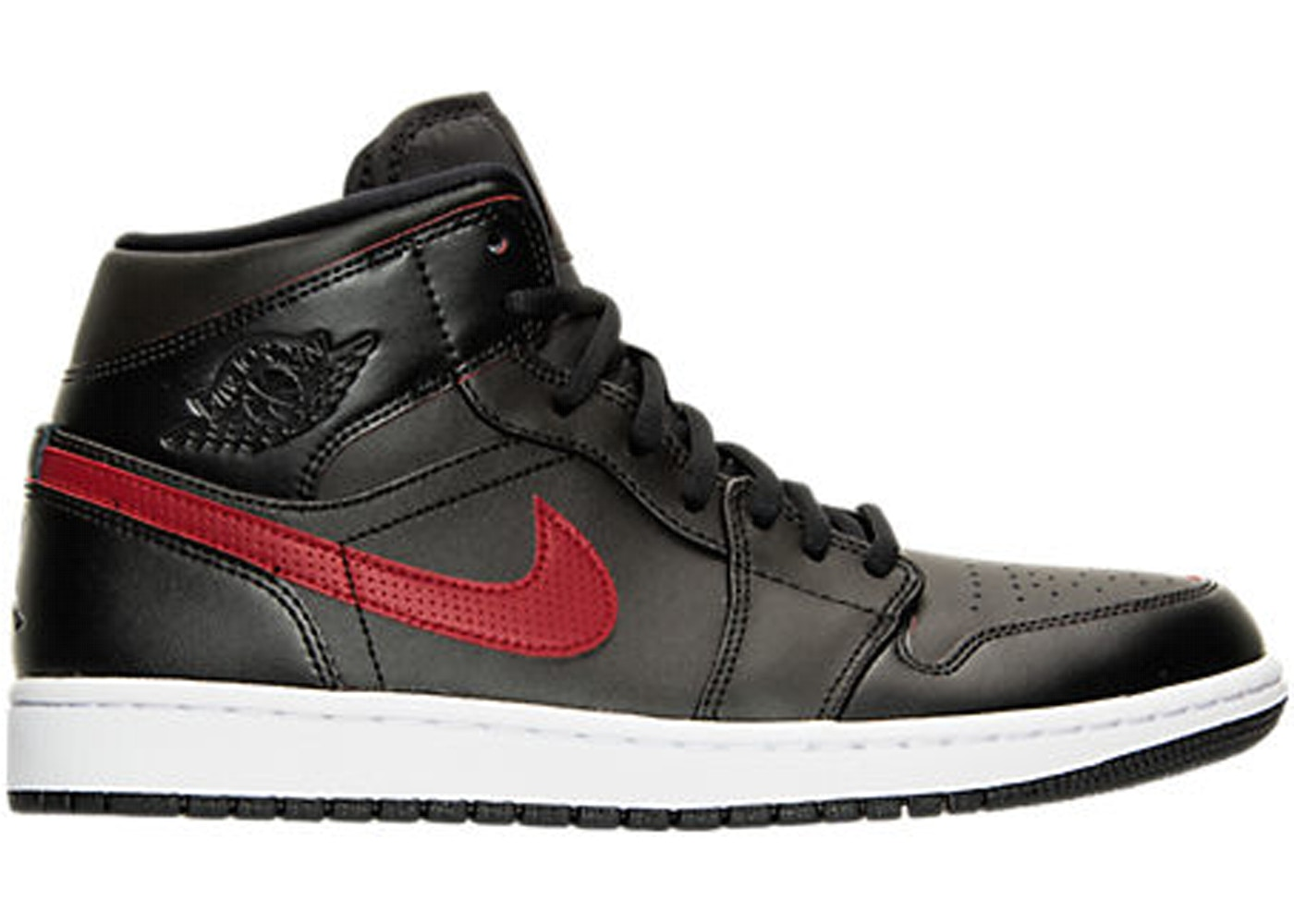 Sell. or Ask. Size  10.5. View All Bids. Jordan 1 Retro Mid Black Team Red c69117a95dd5