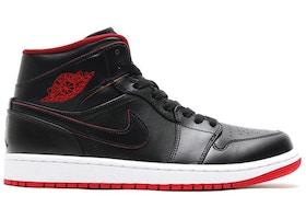 kup najlepiej butik wyprzedażowy sekcja specjalna Jordan 1 Retro Mid Black Red White