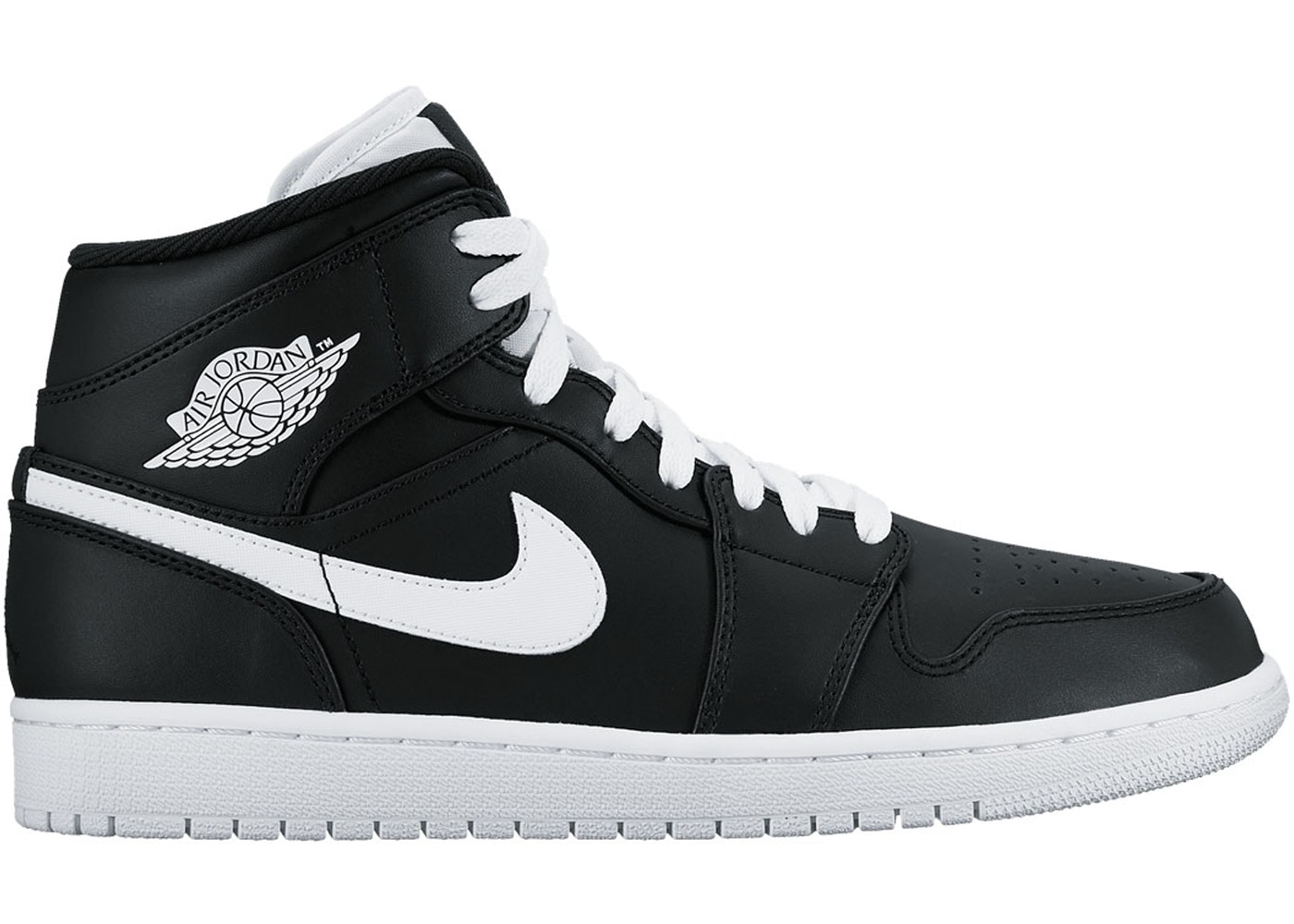 competitive price 1262a b1af6 Jordan 1 Retro Mid Black White