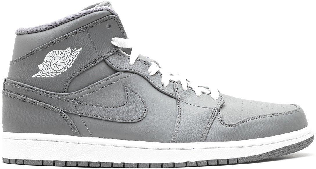 all gray jordan 1