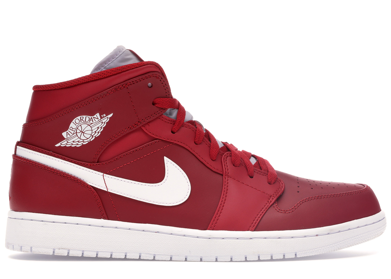 air jordan 1 retro mid red