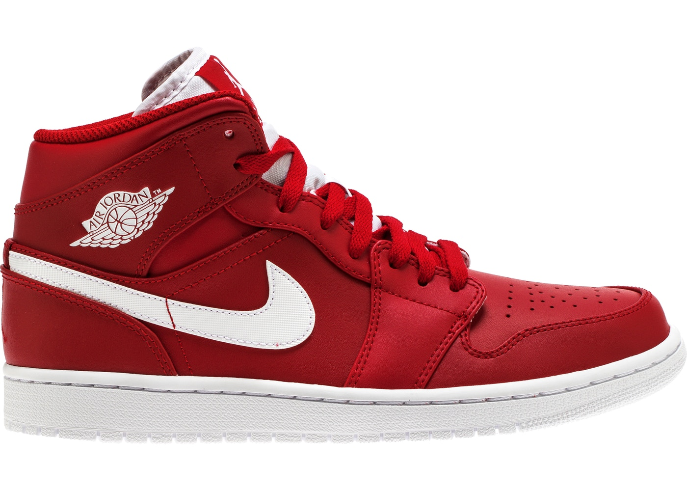 sports shoes 9efd0 21039 Jordan 1 Retro Mid Gym Red White
