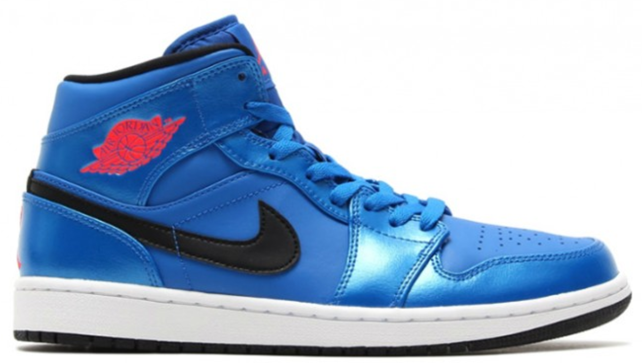 Jordan 1 Retro Mid Sport Blue - 554724-423