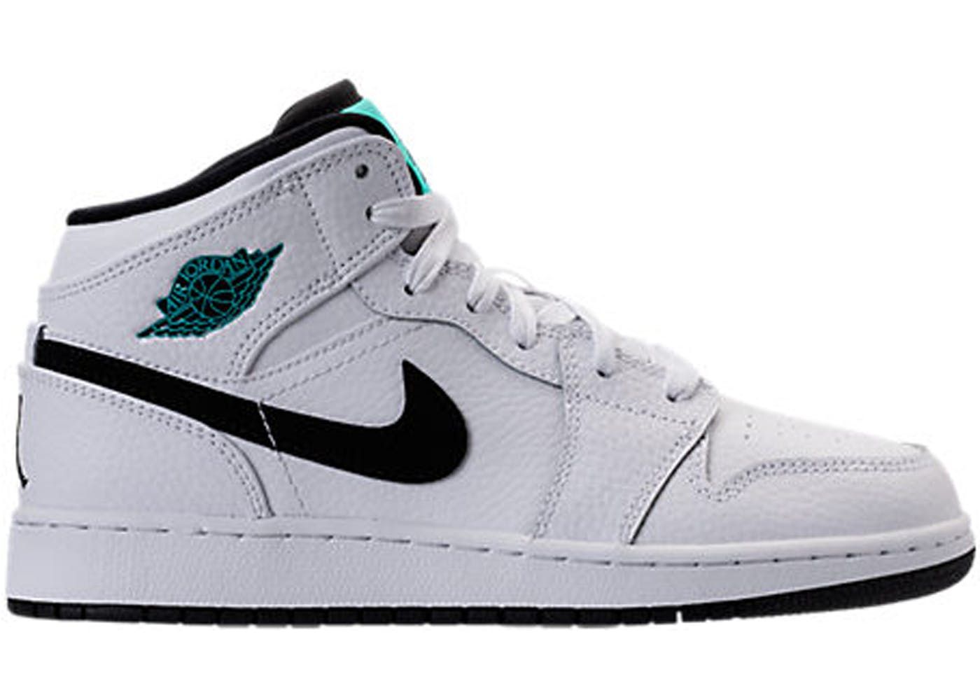 air jordan 1 retro mid white