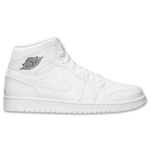 Mid Retro Cool Grey White Jordan 1 PiuOZkX
