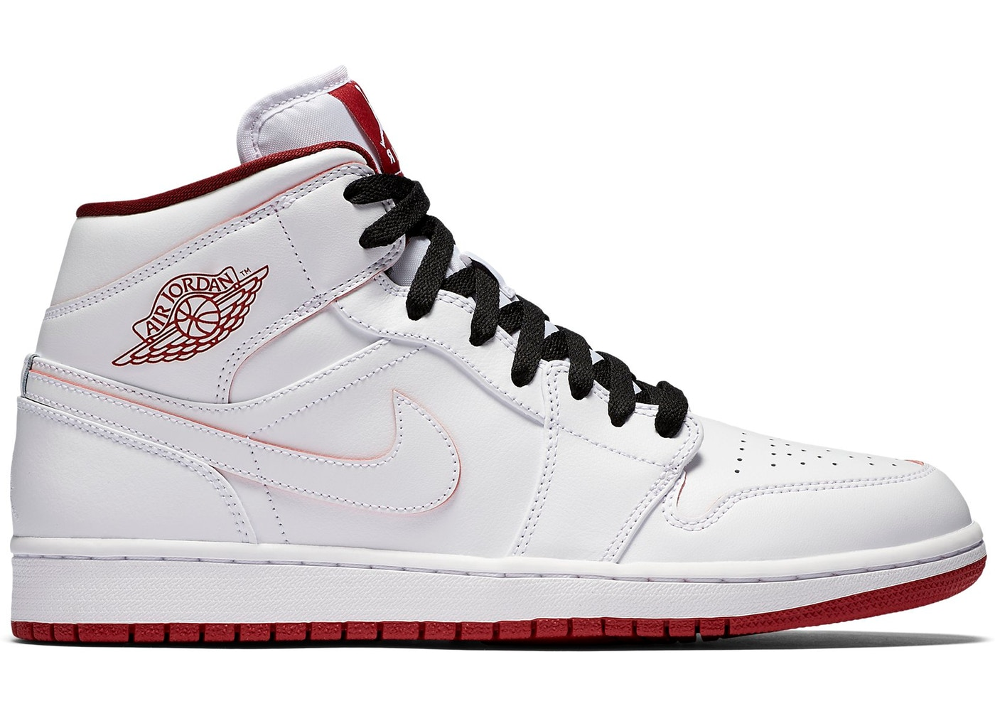0fc2f0d5044 Sell. or Ask. Size  9.5. View All Bids. Jordan 1 Retro Mid White Gym Red  Black