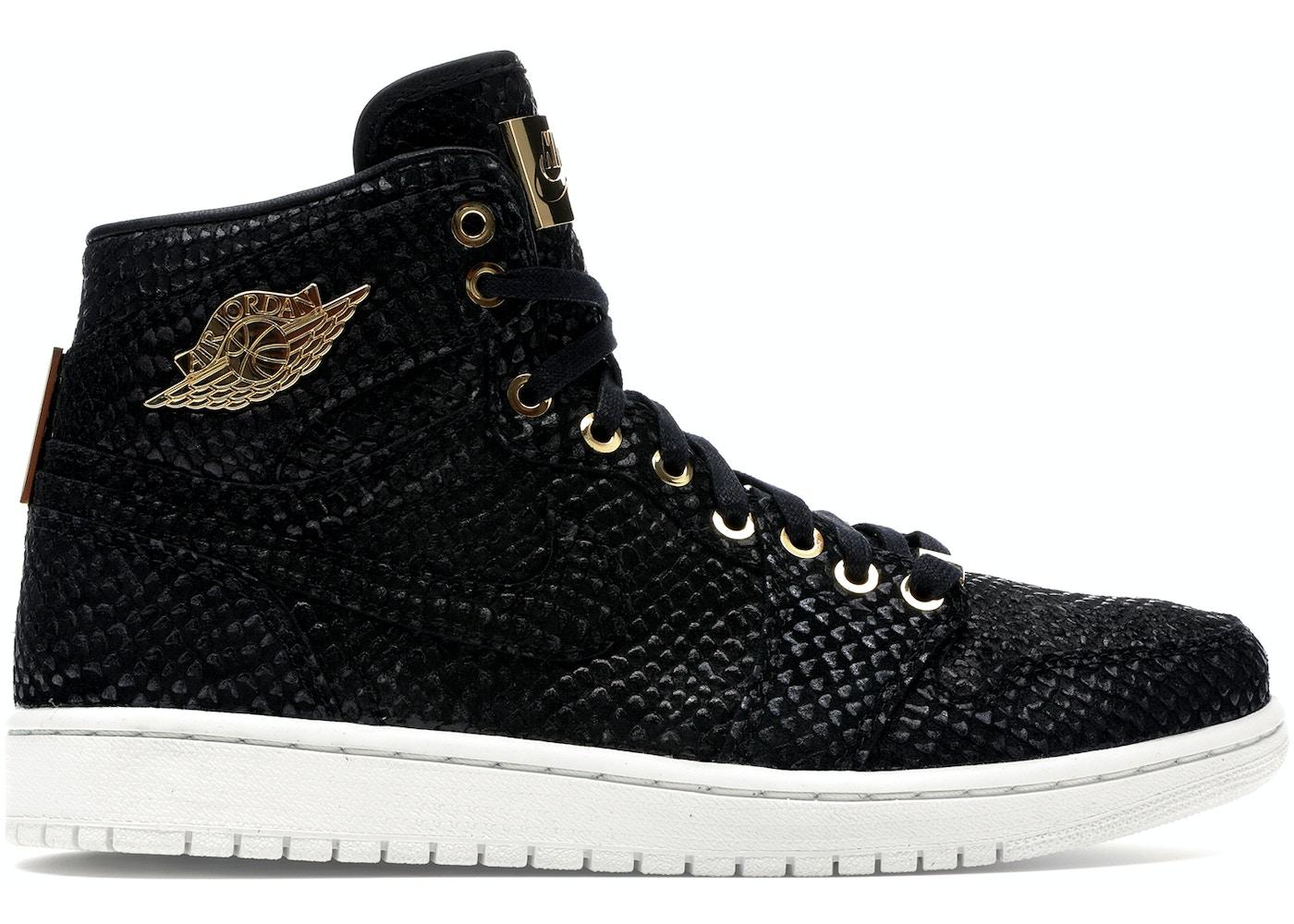 sports shoes c329e 6d8a8 Jordan 1 Retro Pinnacle Black - 705075-030