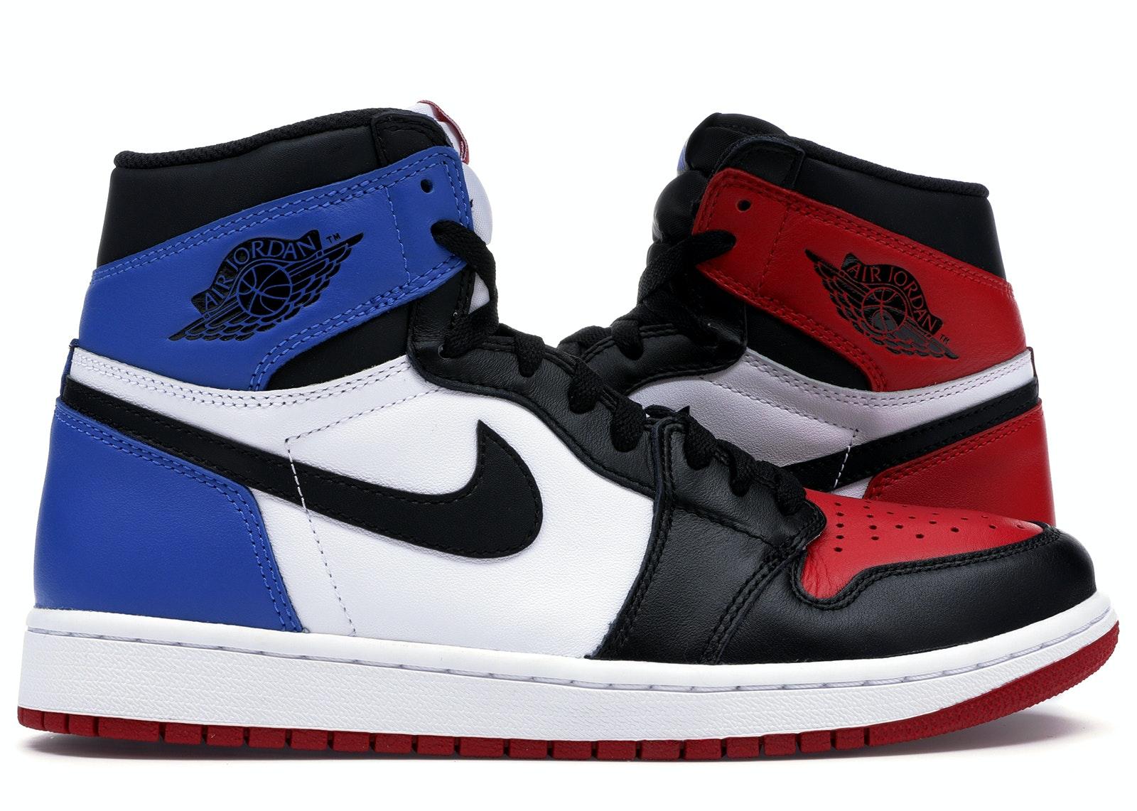 jordan 1 blue red