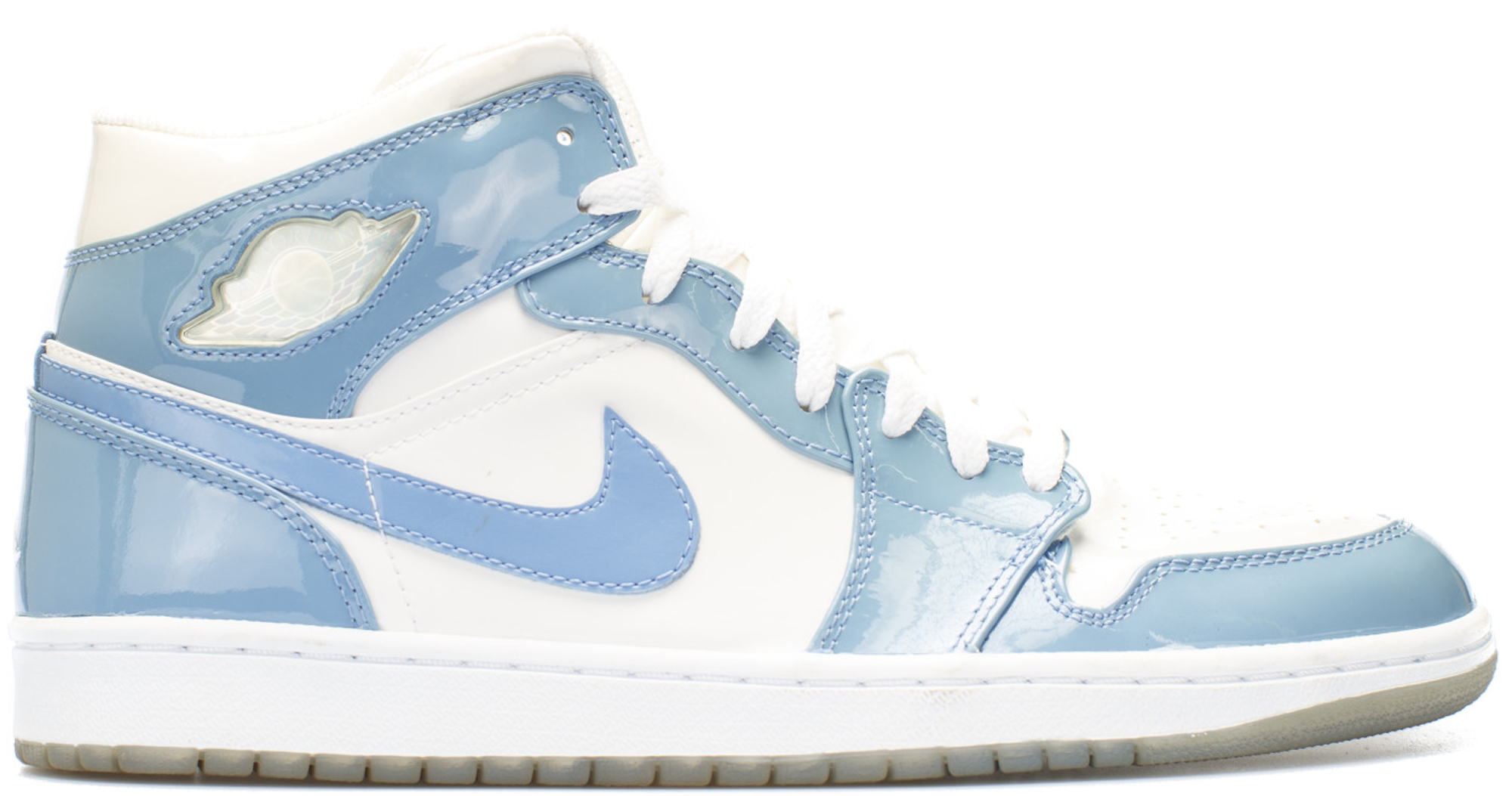 save off 91d98 39baa ... buy air jordan 1 patent white and blue 7fbdf 531c8 ...