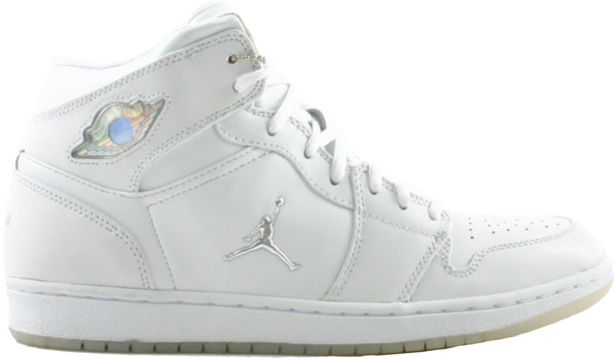 Jordan 1 Retro White Chrome (2002)