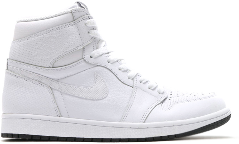 Jordan 1 Retro White Perforated