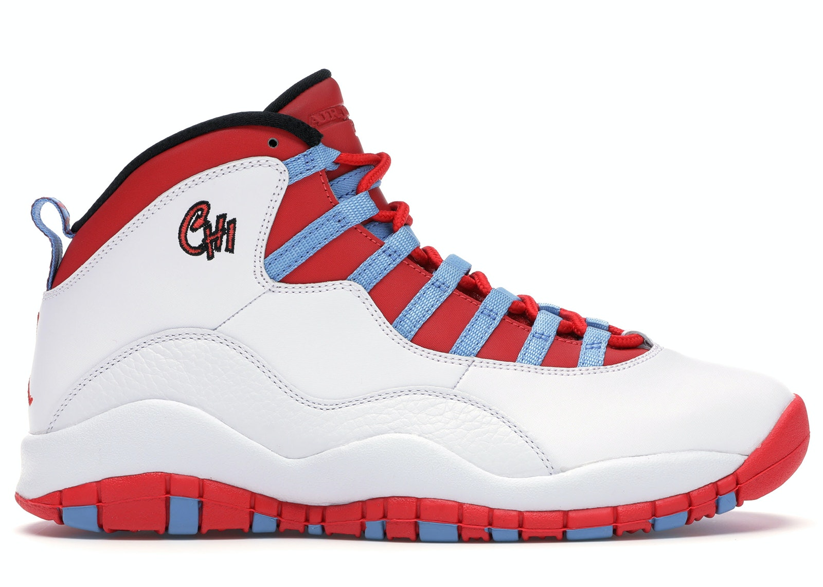 Jordan 10 Retro Chicago Flag