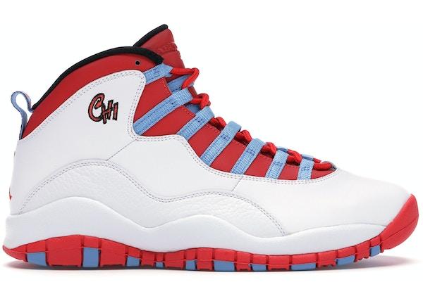 8b3dc97a1b3c Jordan 10 Retro Chicago Flag - 310805-114