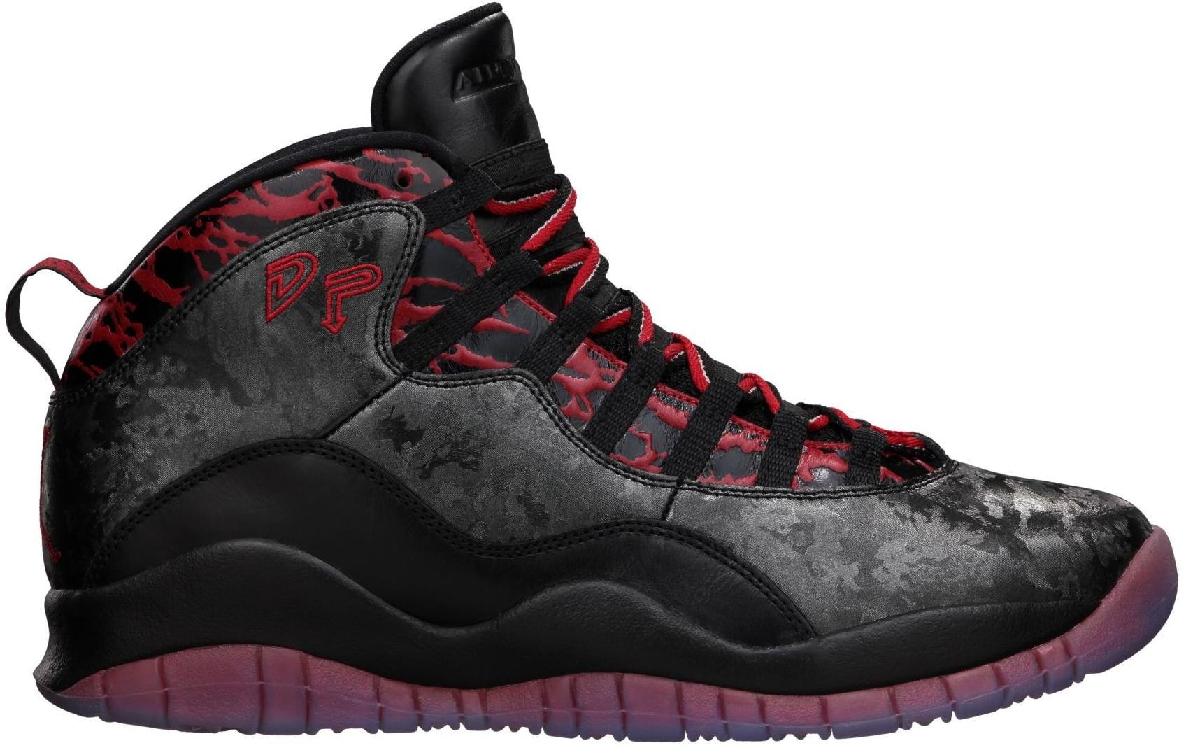 b43628c4c9c7 2015 Online Nike Air Jordan 10 Fusion Red Black Laser Orange ...