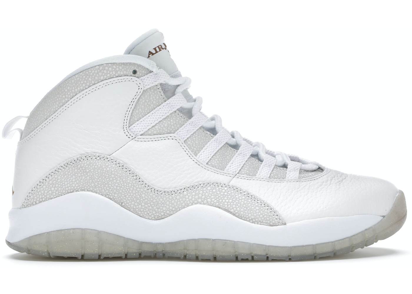 3be705be9036 Jordan 10 Retro Drake OVO White - 819955-100