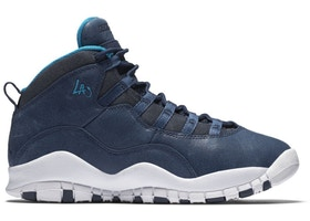 dddd8f1a08e7 Jordan 10 Retro Los Angeles (GS) - 310806-404