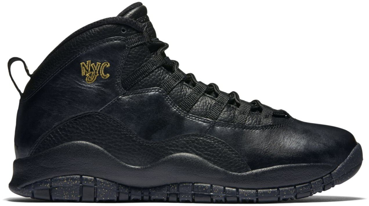 Jordan 10 Retro New York City (2016)