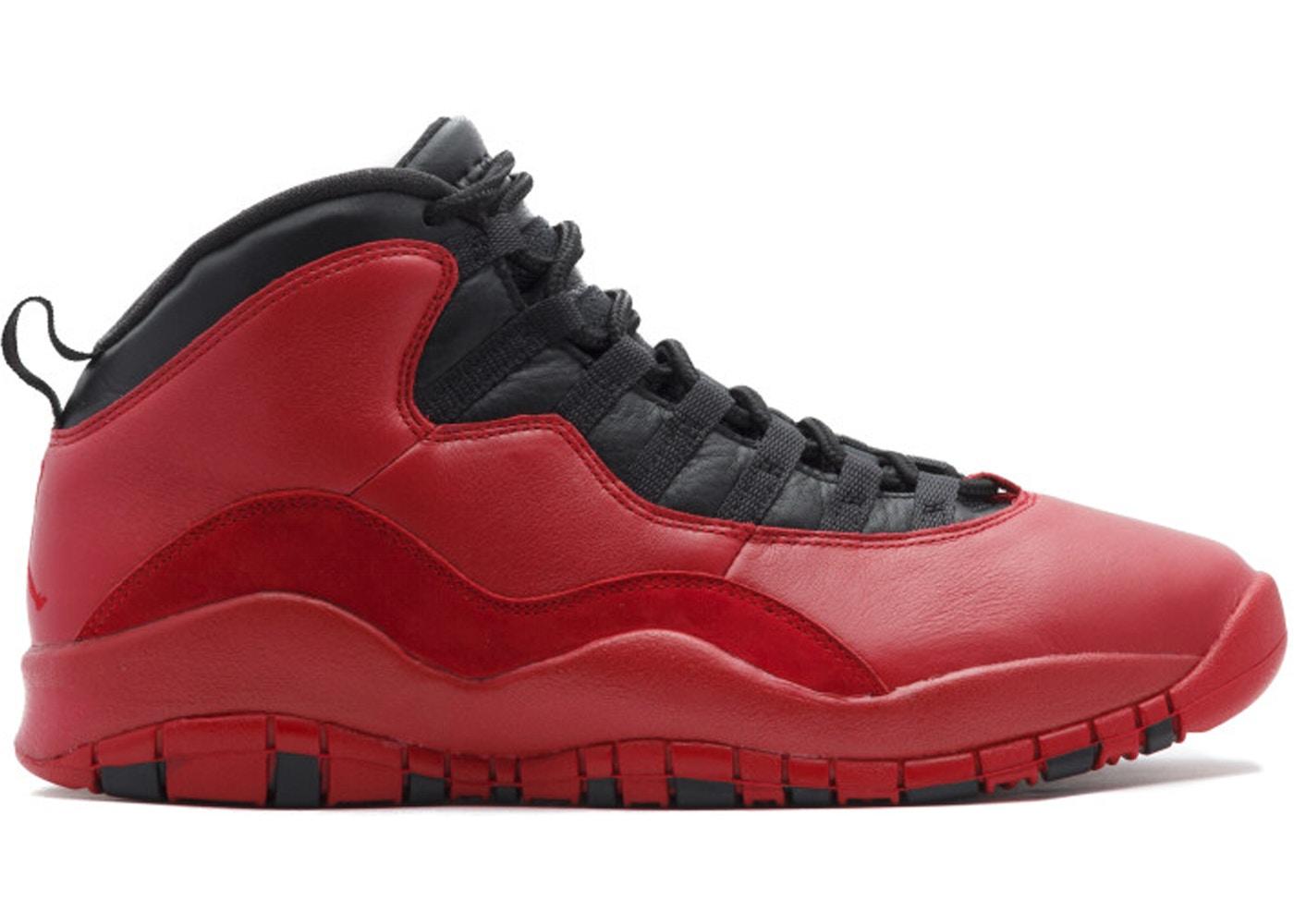 ff1da9302d175b Jordan 10 Retro PSNY Red - AJ10-542509