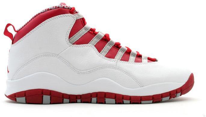 Jordan 10 Retro Red Steel - 310805-161