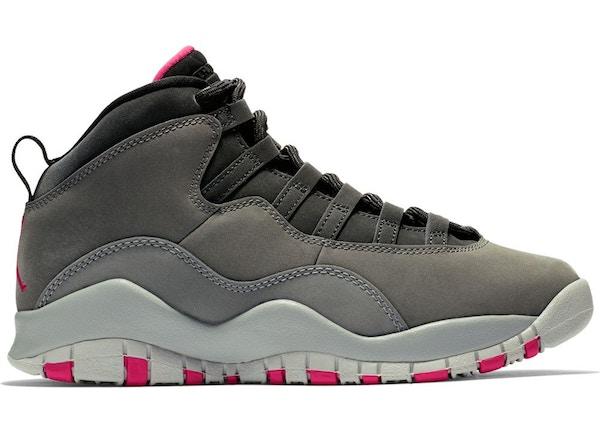 best sneakers 68e93 244ef Jordan 10 Retro Rush Pink (GS)