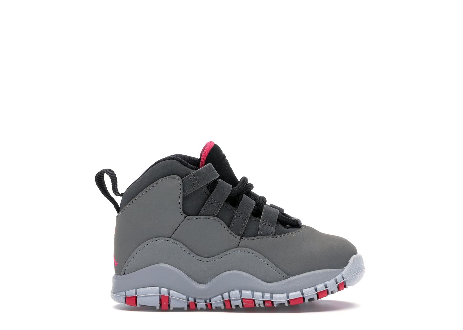 Jordan 10 Retro Rush Pink (TD) - 705416-006