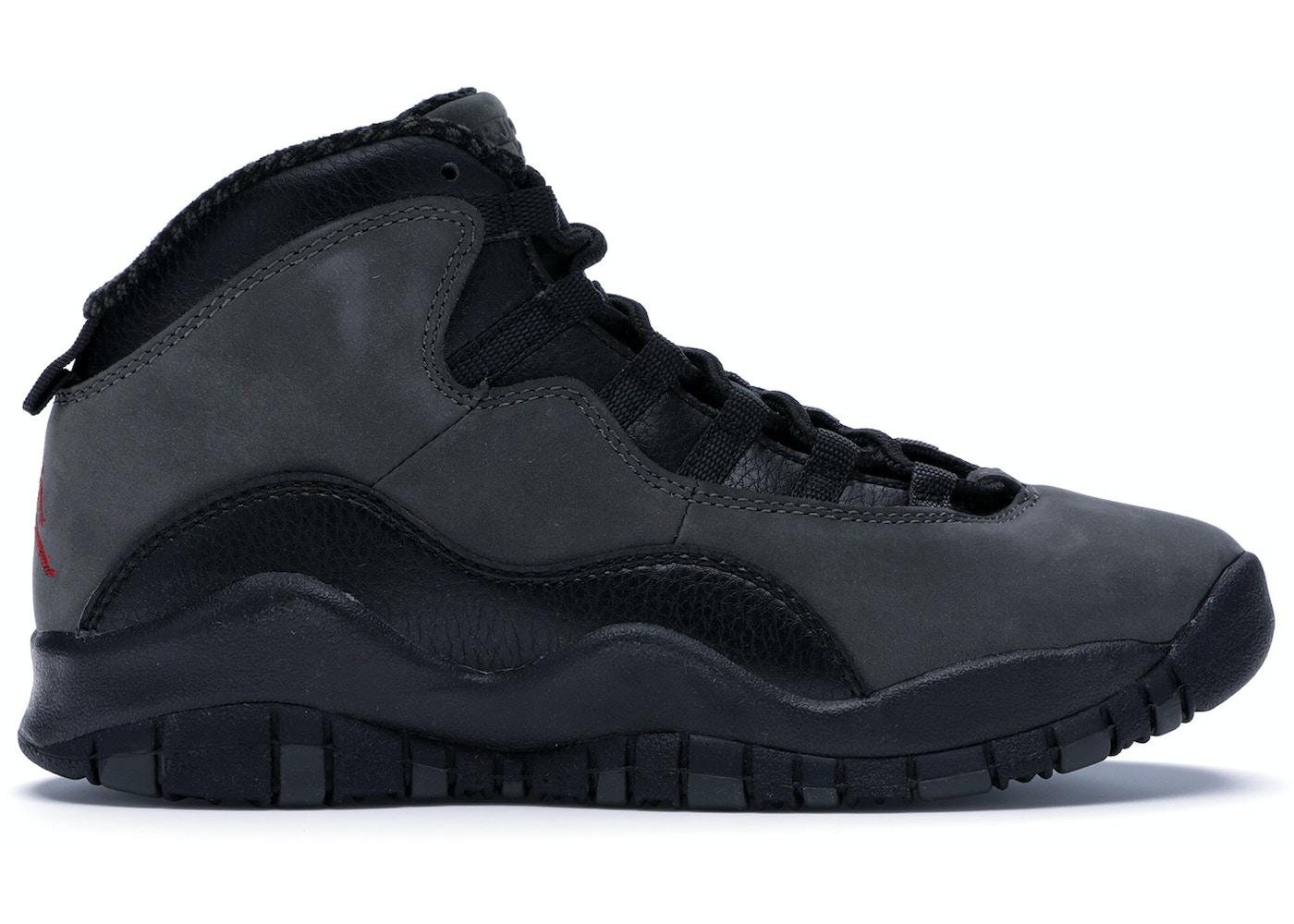 quality design 8585d b99a0 Jordan 10 Retro Shadow 2018 (GS) - 310806-002