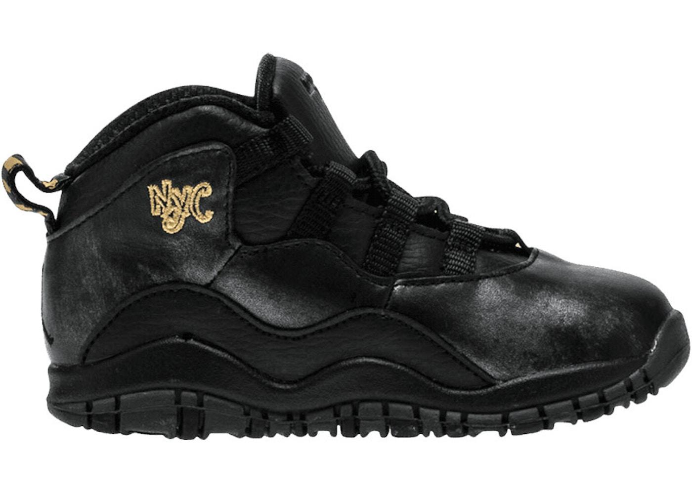 competitive price e0c34 811f2 Jordan 10 Retro TD NYC (Toddler)