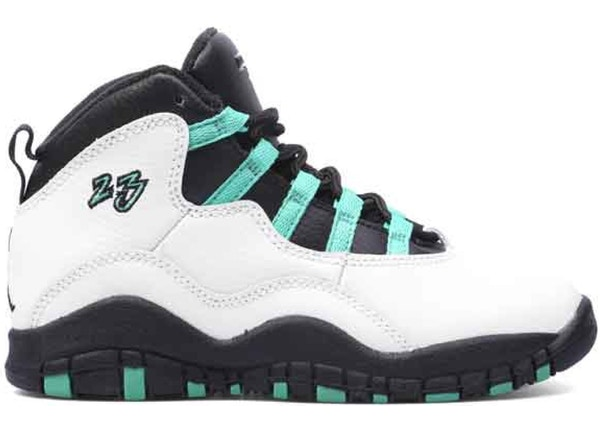 sports shoes e7755 23710 Jordan 10 Retro Verde (PS)