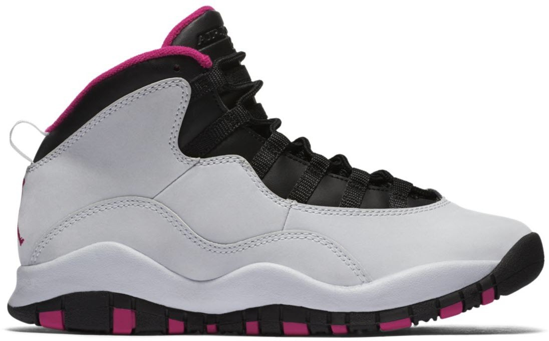 Jordan 10 Retro Vivid Pink (GS